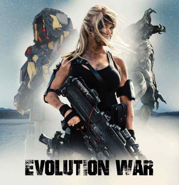 Terminator Meets Pacific Rim in Neil Johnson's Evolution War.