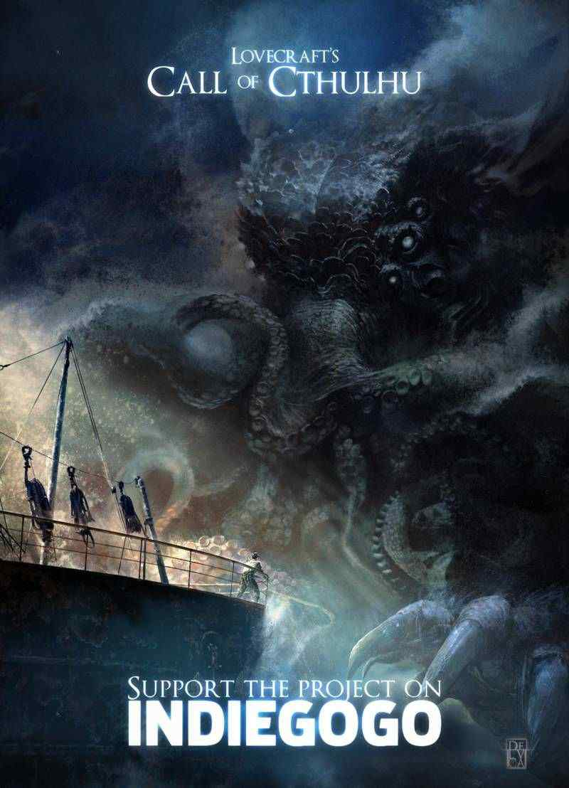 Lovecraft S Call Of Cthulhu The Movie Horror Society