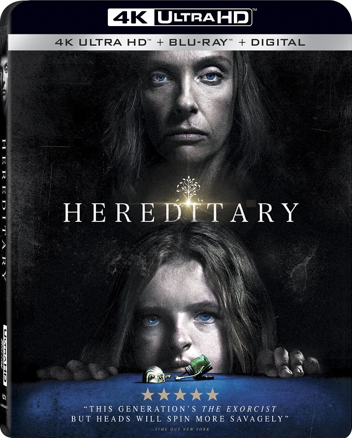 Terrifying Psychological Thriller HEREDITARY Arrives on  4K Ultra HD™ Combo Pack, Blu-ray™ Combo Pack, and DVD on September 4 from Lionsgate