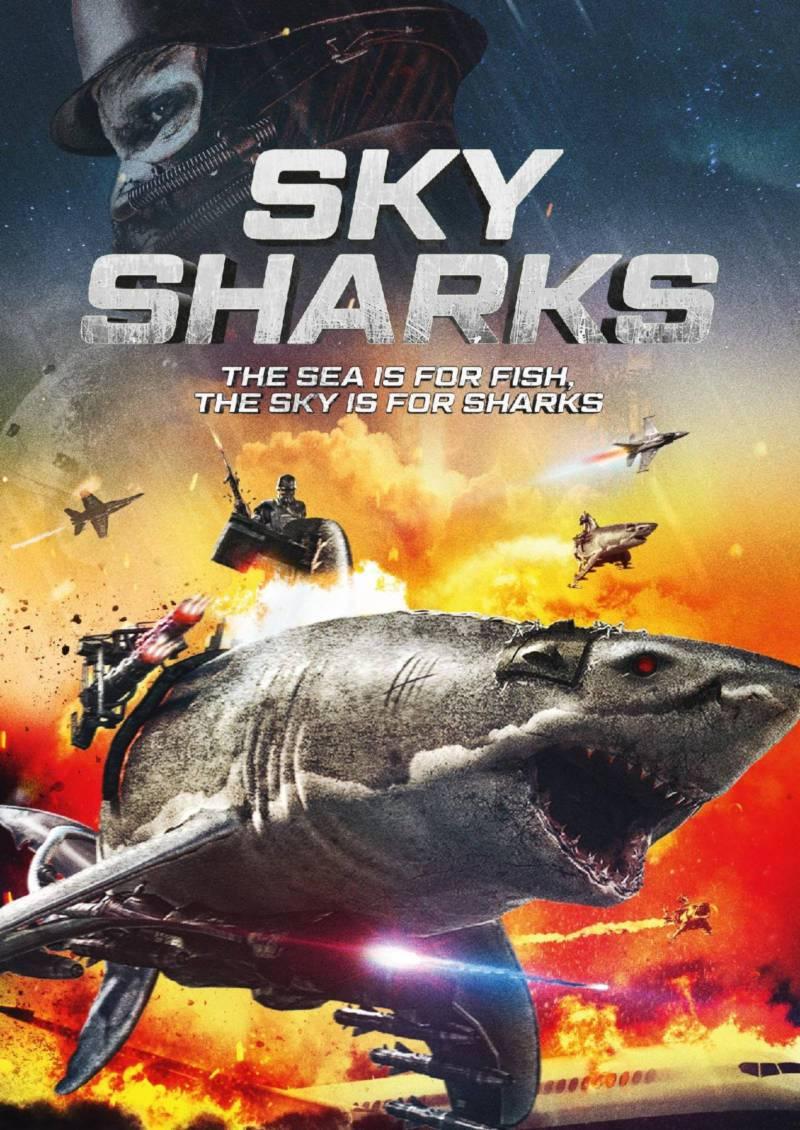 """Conoce el brutal tráiler de """"Sky Sharks"""", la nueva cinta de terror nazi"""