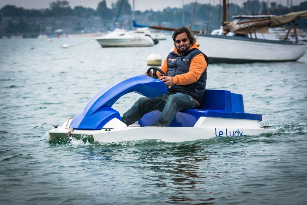 bateau électrique ludyvert