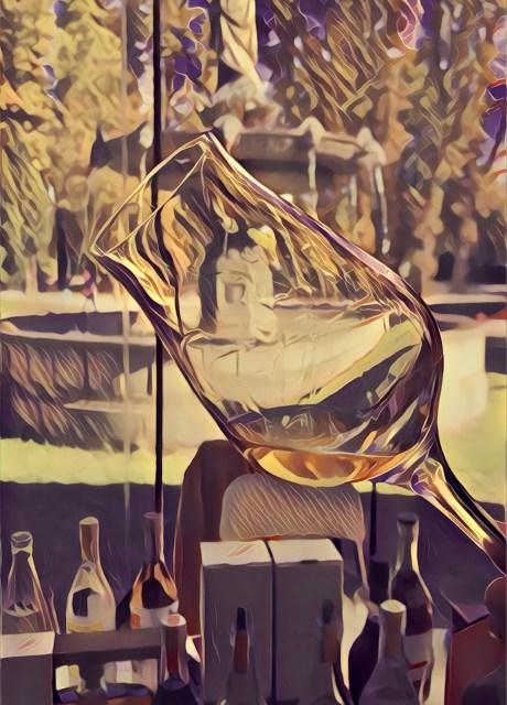 Verre Hors d'Age stylisé cognac tasting notes