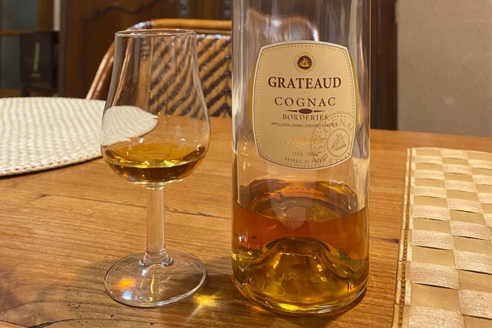 Grateaud Borderies Napoléon 40% tasting notes