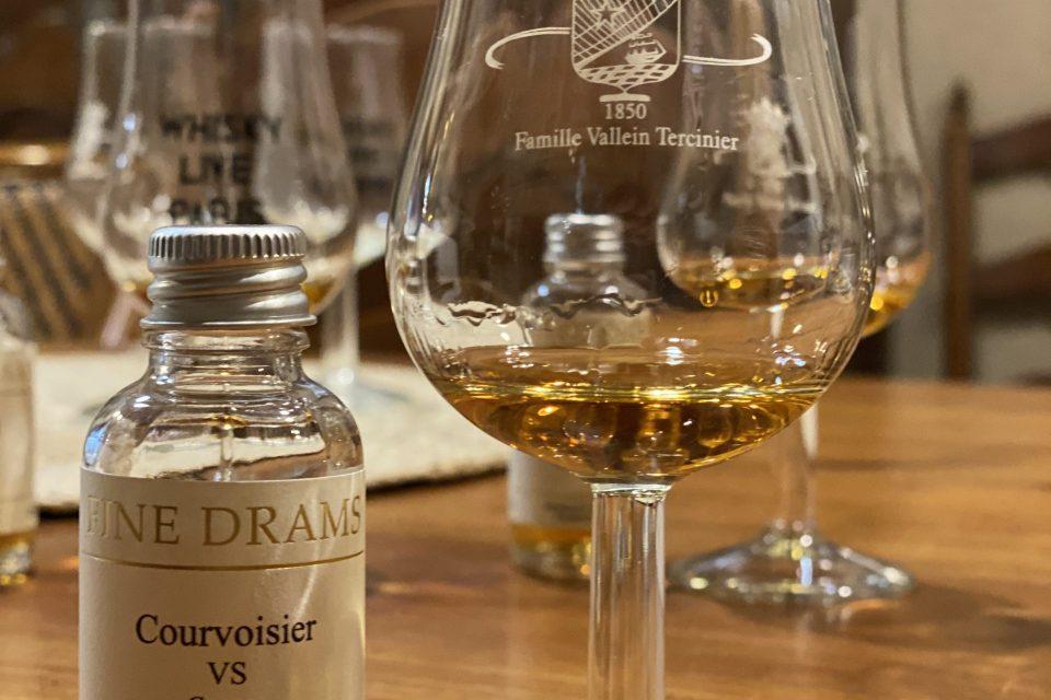 Cognac VS Courvoisier VS tasting notes