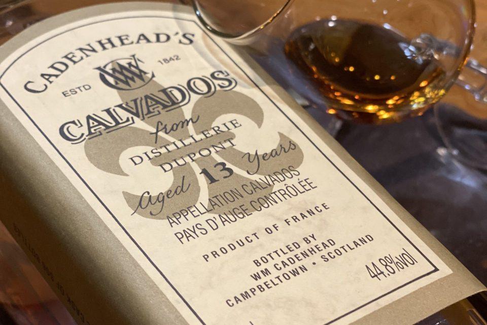 Calvados Cadenhead's Dupont tasting notes