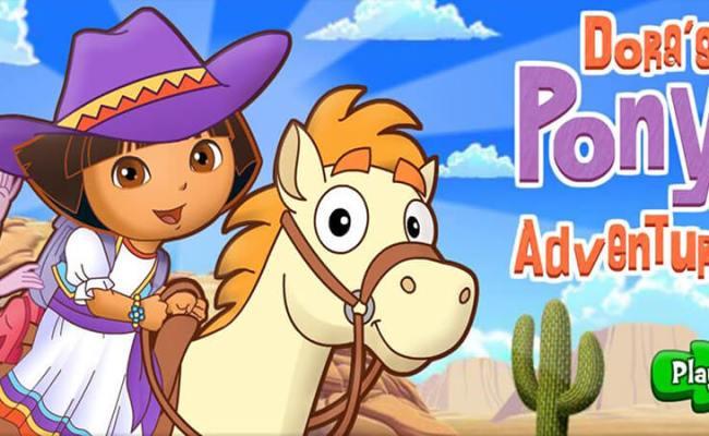 Dora Pony Adventure Pony Game At Horse Games Org