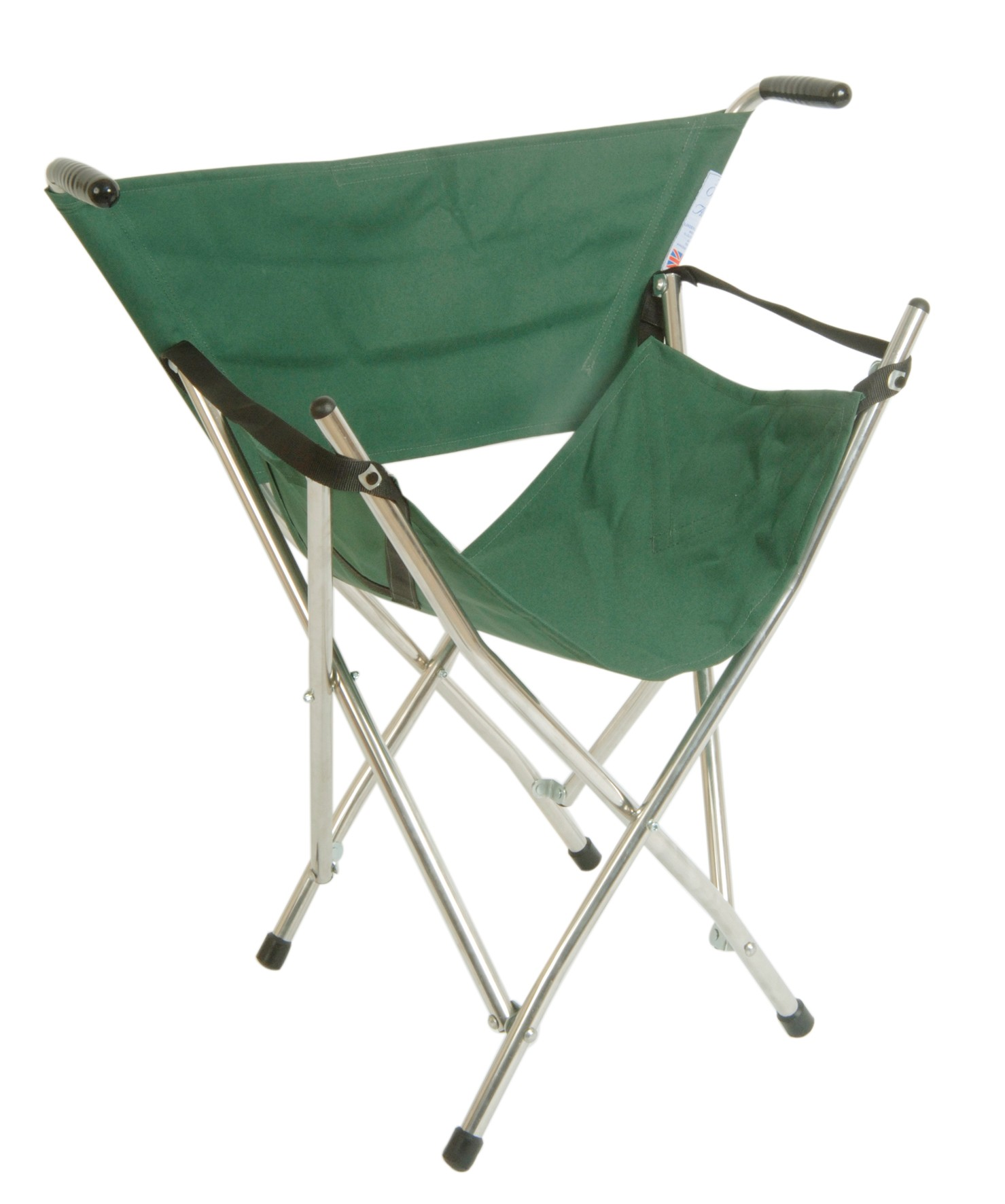 walking cane seat chairs metal bedroom chair classic canes out and about folding green
