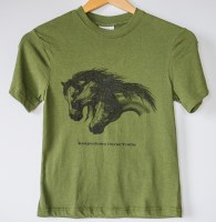 T-shirts with Kaapsehoop Horse Trails Logo