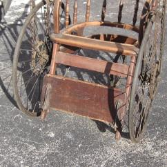 Wheelchair Ebay Upholster A Chair Antique Hand Crank And Chain Driven Unique