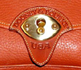 Dooney and Bourke All-Weather Leather Handbag characteristics Solid  Brass Hardware
