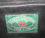 Dooney and Bourke Green tag