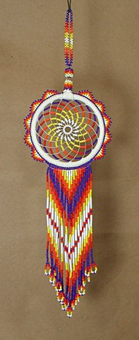 Dreamcatcher Native American Oglala Lakota Tony Monroe Beaded