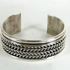 Vintage Diagram Uk Domestic Lighting Wiring Authentic Native American Sterling Silver Cuff Bracelet By Tom Hawk Navajo