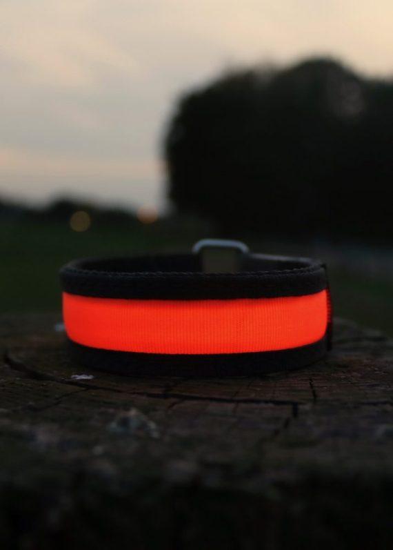 paarden verlichting, beenverlichting Oranje veiligheidsverlichting