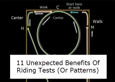 11 Unexpected Side-Benefits Of Riding Tests (Or Patterns)