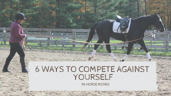 horse lunge rider development