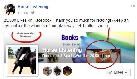 20000 Likes On Facebook
