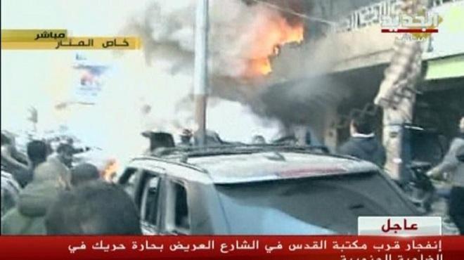 Attentato a Beirut rivendicato dallo Stato islamico dell'Iraq e del Levante, affiliato ad Al-Qaeda (immagine da Al-Arabiya)