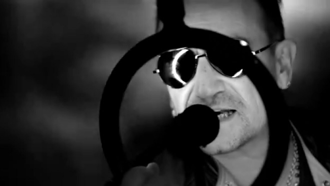 "Bono Vox in ""Invisible"""