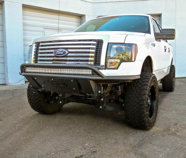 Addictive Desert Design Add Lite Front Bumper Ford F  F053842940103