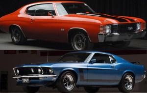Muscle Cars vs Pony Cars