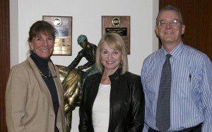 Wendy Davis, Ass. Coord; Pamela Burton; Doug Reed, Director RTIP