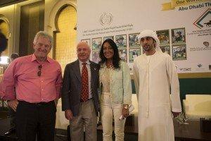 Ian Williams FEI Chris McCarron, Susanna Santesson, Ahmed Al Suboosi