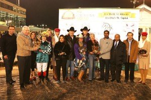 Fatima Prize with owners Jane & Ray Teutsch
