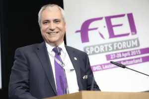 Ingmar De Vos FEI Secretary General FEI Sports Forum 2015