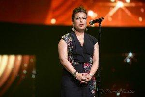 Lara Sawaya onstage