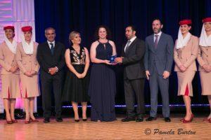 Stephanie Ruff Corum, Best Journalist Award