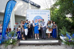 Maria Hagman-Erikkson takes her award