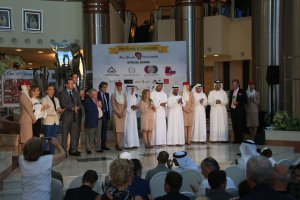 Officials and guests at Draw Ceremony