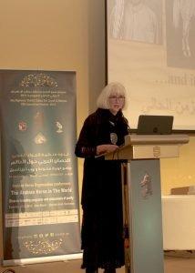 Cynthia Culbertson in Abu Dhabi