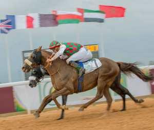 Aoun winning Zayed Cup