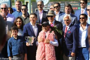 Mike Smith, Bob Baffert Justify Win