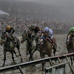 Justify across the finish line (2) credit Jon Kral
