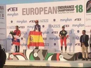 Toscana Young Riders on the Podium