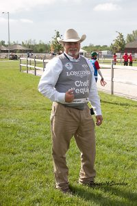 Mark Dial at the World Equestrian Championships in Slovakia