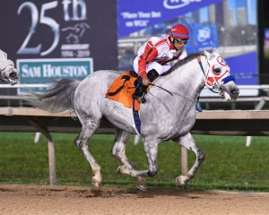 Easter Man winning the Zayed Cup in Houston