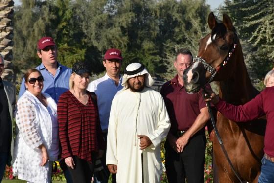HH Sheikh Sultan with Monarch AH