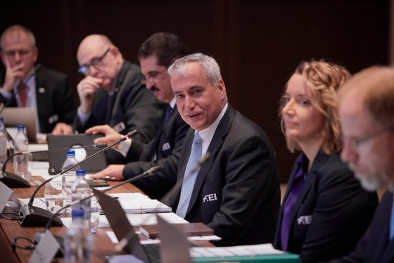 FEI Board at the FEI General Assembly 2019 in Moscow (RUS). Photo: FEI Liz/Gregg