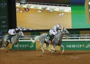 Tallaab Al Khalediah and jockey Roberto Perez