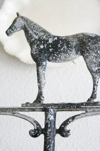 Stable Style: Beautiful Weather Vanes | Horses & Heels