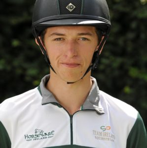 Cathal Daniels set Ireland on their way to the top by posting a penalty-free cross-country round at Boekelo.
