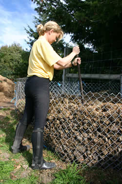 Horse Manure An Easy Guide To Composting Features Horsetalk Co Nz