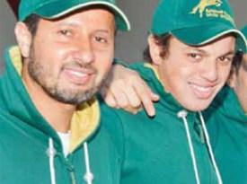 Khaled Al Eid, left, and Abdullah Al Sharbatly
