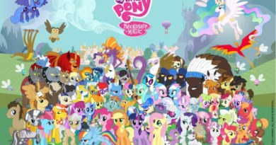 """The cast of """"My Little Pony: Friendship Is Magic""""."""