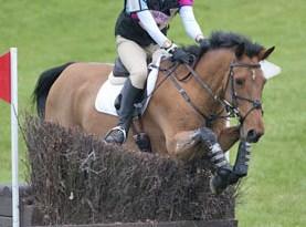 Britain's Louisa Nesbitt and Carrowmore Gemstone.