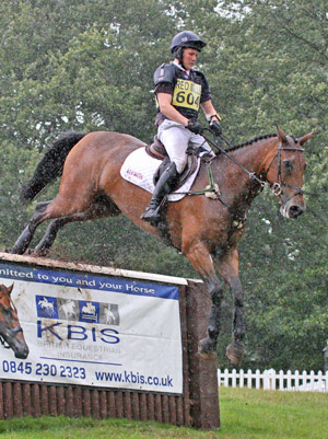 Tom McEwen and LA Lux at Highclere Castle last year.